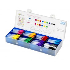 Practice Box for Interdental Brushes 15*8 (filled)