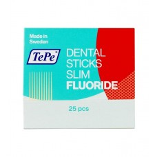 Dental Sticks, slim, birch with fluoride N25