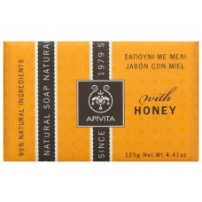 Apivita Natural Soap with Honey & Lavender, 125g