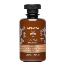 APIVITA ROYAL HONEY Creamy Shower Gel with Essential Oils with Honey, 250ml