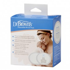 Disposable Breast Pad (Oval), 30-Pack
