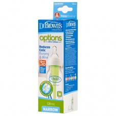 "Narrow-Neck ""Options"" Bottle 120 ml, 1-Pack"