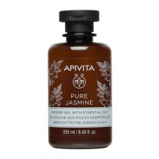 APIVITA PURE JASMINE Shower Gel with Essential Oils with Jasmine, 250ml