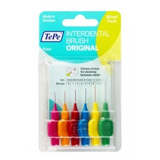 Interdental Brush mixed pack, all sizes N6, blister